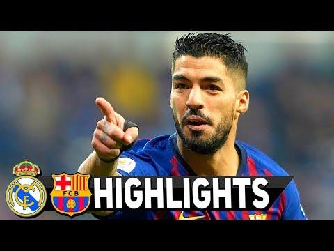 Real Madrid vs Barcelona 0-3 All Goals & Full Etended Highlights HD 27/2/2019