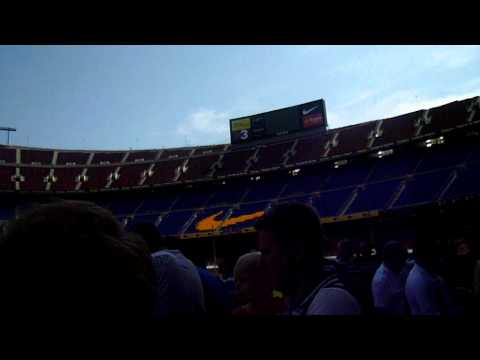 Salou 2011 – Nou Camp Tour