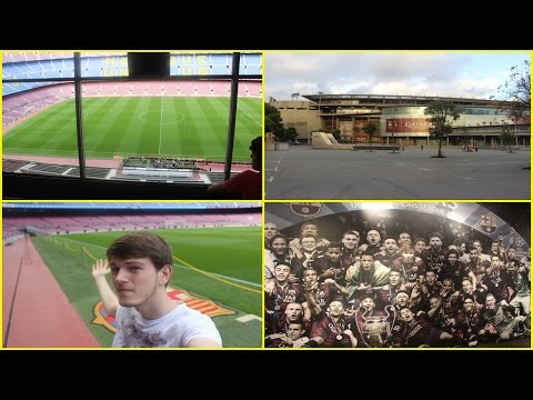 FC Barcelona Stadium Tour ! – Week In Spain / Vlog 5