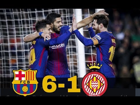 FC Barcelona v Alaves 6-1(English Commentary) ||All goals and extended highlights,24/02/18