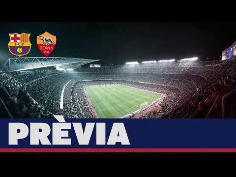 UEFA Champions League (prèvia): FC Barcelona – AS Roma (CAT)