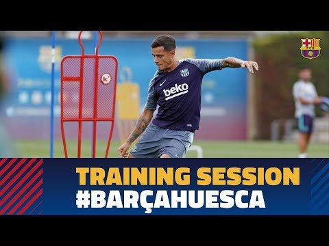 Skills and shooting practice at Tuesday training