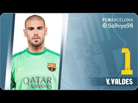 FC Barcelona Squad 2013/14