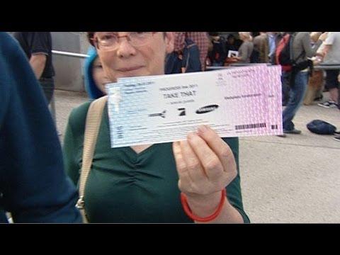 Internet-Tauschbörsen: Kein Einlass mit dem Viagogo-Ticket – SPIEGEL TV Magazin 7.8.2011