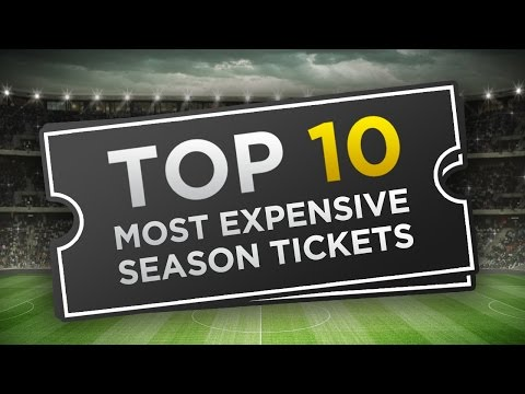 Top 10 Most Expensive Football Season Tickets