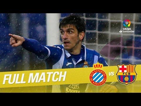 Full Match RCD Espanyol vs FC Barcelona LaLiga 2017/2018
