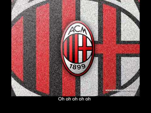AC Milan Official Anthem + Lyrics CC + Download