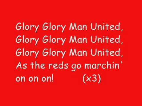 Glory Glory Man United karaoke