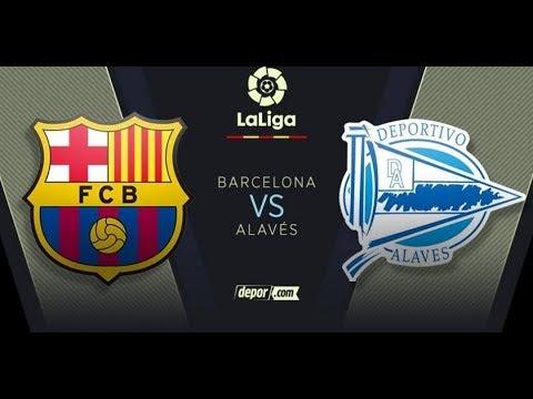 LIVE BARCELONA vs ALAVES LIVE STREAM HD – LA LIGA 2018 EN VIVO