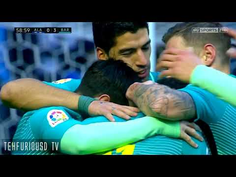 Alaves vs FC Barcelona(0-6)   All Goals and Highlights with English Commentary  HD 720p