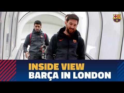 [BEHIND THE SCENES] A day in London (Chelsea – Barça)