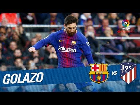 Golazo de Messi (1-0) FC Barcelona vs Atlético de Madrid