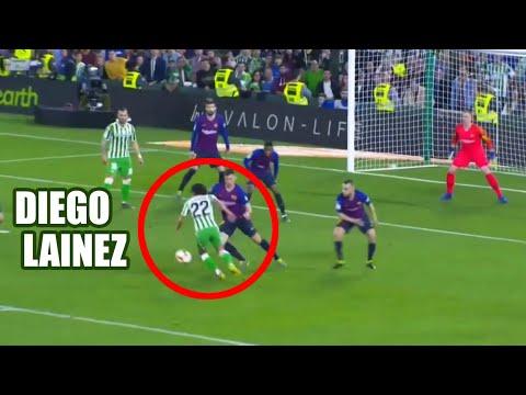 Diego Lainez vs FC Barcelona – 17/03/19