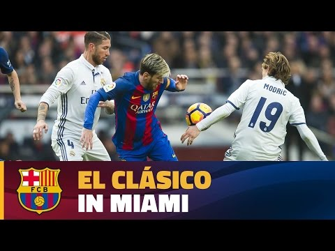 FC Barcelona – Real Madrid to be played on 29 July in Miami, USA