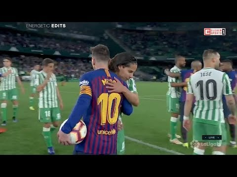 Diego Lainez vs FC Barcelona (Home) – 3/17/19 HD 720p By EE