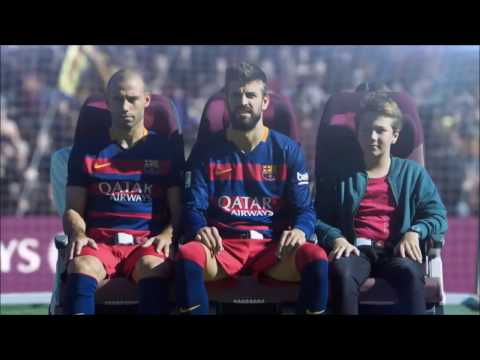 Qatar Airways In Flight Safety Video Staring FC Barcelona Team