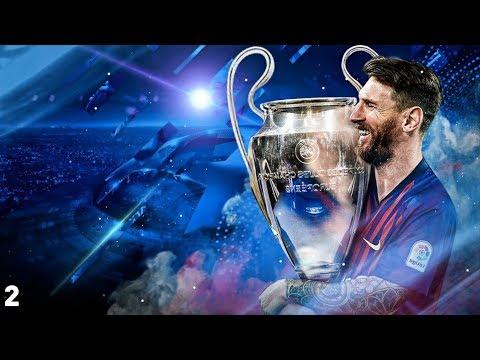 BARCELONA ROAD TO THE UEFA CHAMPIONS LEAGUE TITLE | FIFA 19 | EP2