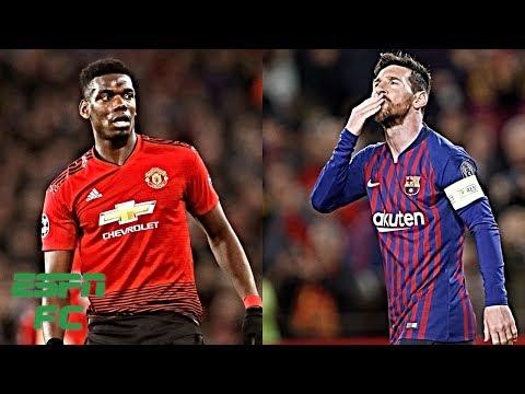 UCL Quarterfinals: Man United vs. Barcelona, Tottenham vs. Man City & more   Champions League