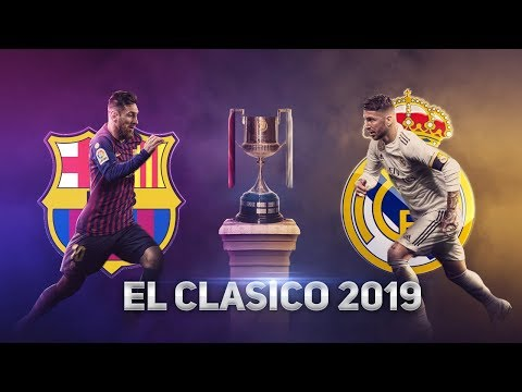 BARCELONA vs REAL MADRID LIVE STREAM EL CLASICO 2019 COPA DEL REY EN VIVO