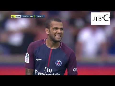 DANI ALVES VS AMIENS Full Match Ligue 1 2017-18