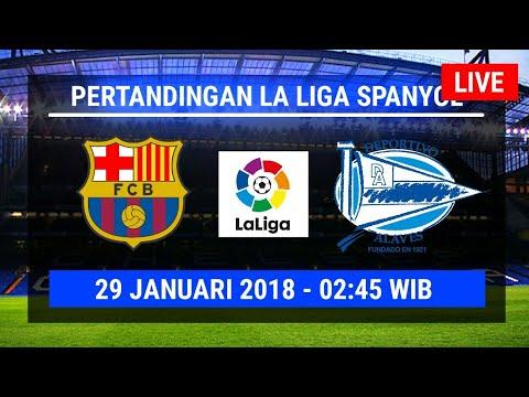 Jadwal Live Streaming Barcelona Fc vs Alaves Siaran Langsung di Tv Sctv