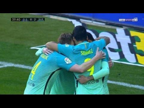 Alavés vs Barcelona  0-6 All Goals & Highlights 11.02.2017