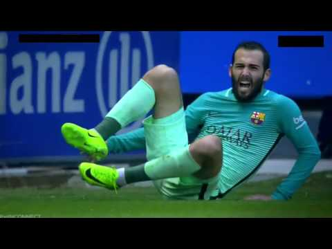 Aleix Vidal (SERIOUS) Injury v Alavés HD | February 11 2017 La Liga Week 22 6-0