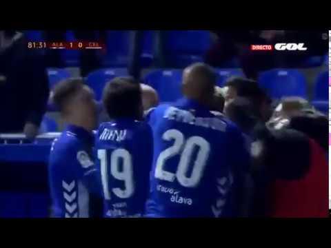 Alaves vs Celta de Vigo 1 0 Full Resum & Goles Copa del Rey  HD 08 02 2017