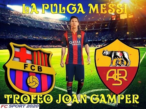 Fc Barcelona vs AS Roma LIVE STREAMING 5-8-2015 – Joan Gamper Cup