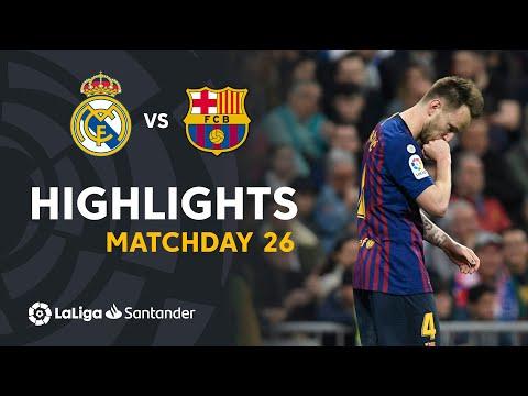 Highlights Real Madrid vs FC Barcelona (0-1)