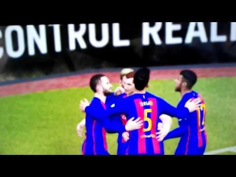 PES 2017 Become a Legend FC Barcelona vs Atletico Madrid and FCB vs FC Sevilla Highlights #lotnick