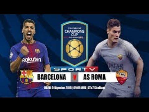 Barcelona vs Roma  international cup Full Game – Melhores momentos