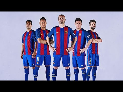 FC Barcelona presents new kit for 2016/17