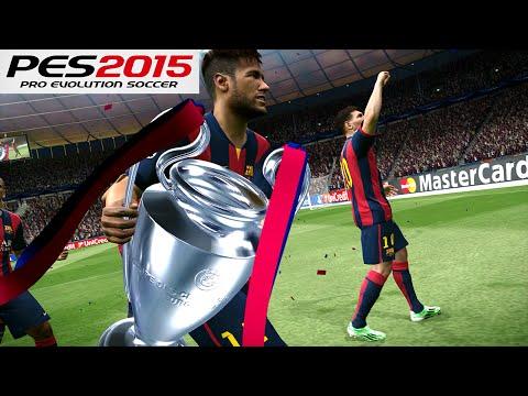PES 2015 – UEFA Champions League Final – FC Barcelona vs Juventus – Penalty Shootout