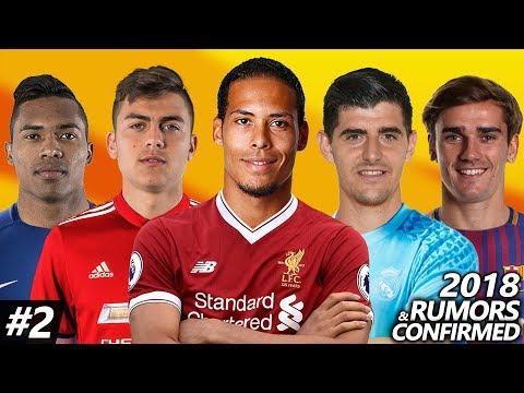 Latest Transfer News Winter 2018 #2 – Confirmed & Rumours Transfers ft. Dybala, Hazard, Griezmann…