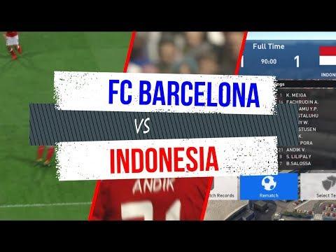 FC Barcelona vs Indonesia