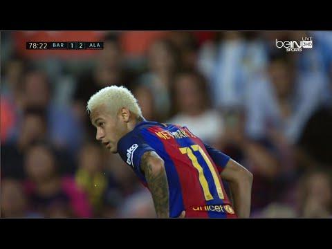 Neymar vs Deportivo Alavés • La Liga • 10/9/16 [HD]