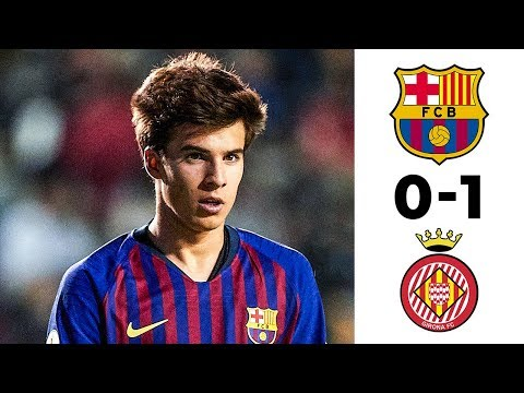 Barcelona vs Girona 0-1 Goals & Highlights (Catalan Cup 2019) HD