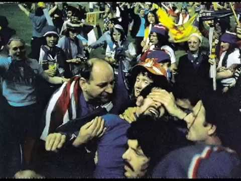 Barcelona 72 – Rangers fc European Cup winners Cup song
