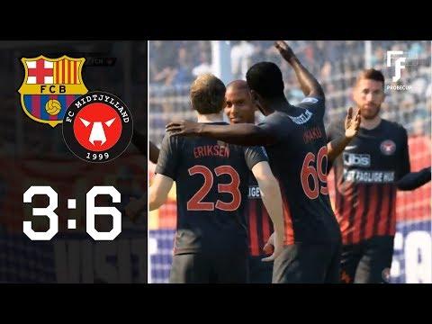 Torfestival zum Viertelfinal-Ticket: FC Barcelona – FC Midtjylland 3:6 | JFL Probecup | 8tel, Rück