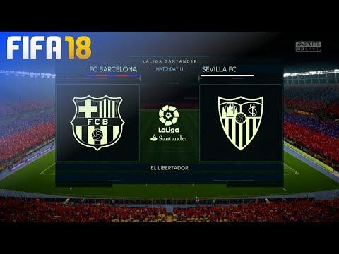 FIFA 18 – FC Barcelona vs. Sevilla FC @ El Libertador