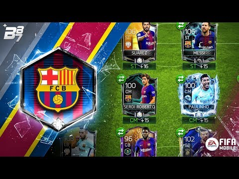 FULL BARCELONA SPECIAL CARD SQUAD! | FIFA MOBILE