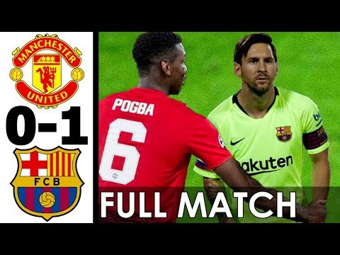 Manchester United vs FC Barcelona 0-1 FULL MATCH w/ English Commentary (Friendly) 2017 HD 720p