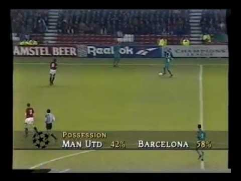 Manchester United 2 – 2 FC Barcelona – 1994 –  Full Match on Granada