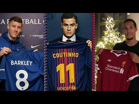 LATEST TRANSFER NEWS: Coutinho to Barcelona, Van Dijk and Lemar to Liverpool and more
