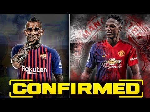 CONFIRMED Transfer News & Rumours 2018 ft Vidal to Barcelona & Yerry Mina to Manchester United