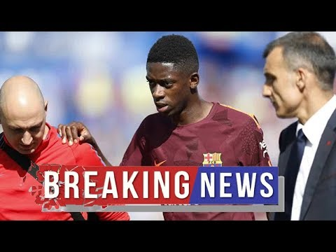 Sky Sports confirm Arsenal close in on deal to sign Dembele as Barcelona put him up for sale