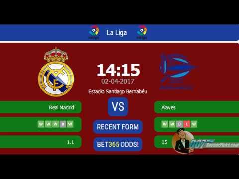 Real Madrid vs Alaves PREDICTION (by 007Soccerpicks.com)