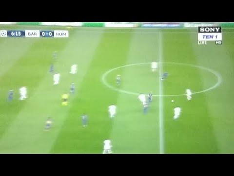 Barcelona vs roma live