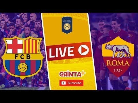 Barcelona vs Roma – Live + Link ! International Champions Cup 2018